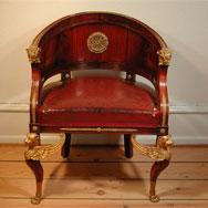 Кресло, русский Ампир