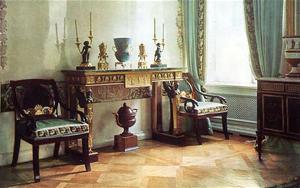 Спальня, Павловский Дворец