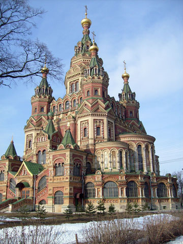 Собор Святых Петра и Павла в Петергофе