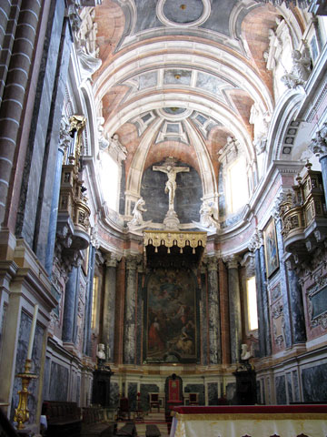 Алтарь Эворского собора