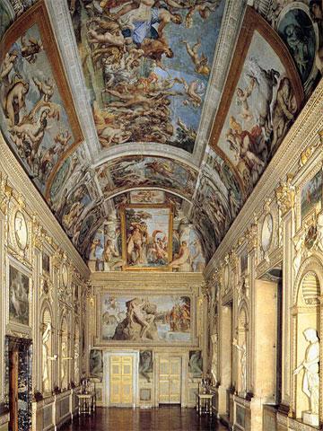 Галерея Фарнезе, палаццо Фарнезе