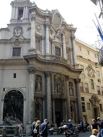 Церковь св. Карла у четырёх фонтанов
