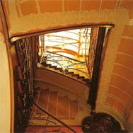 Лестница в доме-музее В. Орта