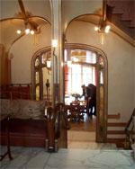 Столовая в доме-музее В. Орта