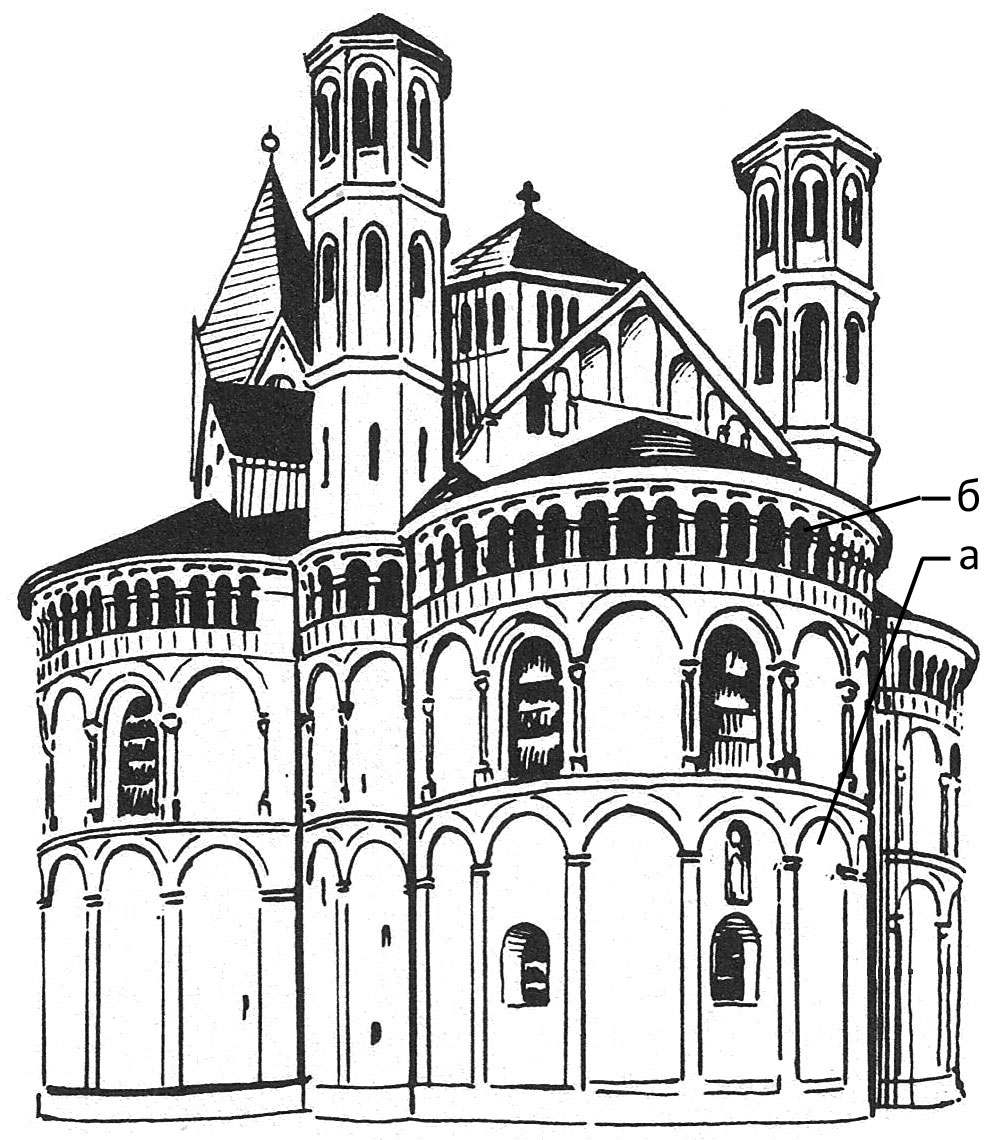 романский стиль в архитектуре картинки черно белые соборная мечеть одна
